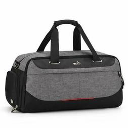 Sport Gym Duffle Travel Bag for Men Women with Shoe Compartm