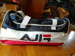 Fila Sports Duffel Gym Bag Navy/White, New with tags