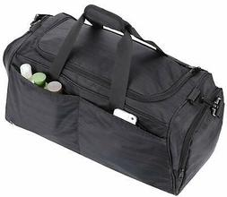 Sports Duffle With Shoe Compartment Gym Bag for Women And Me