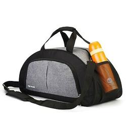 Sports Gym Bag for Men and Women with Shoes Compartment  Gre