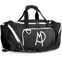 Sports Gym Bag with Pockets Travel Duffel Bag for Men and Wo