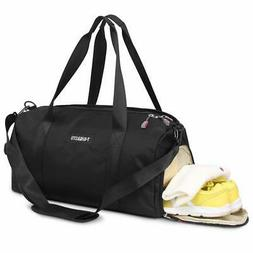 Sports Gym Bag with Wet Pocket & Shoes Compartment Waterproo