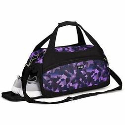 Sports Gym Bags with Wet Pocket and Shoes Compartment Travel