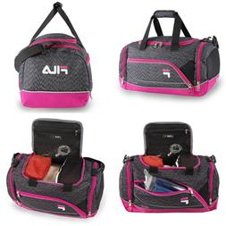 Fila Sprinter Small Duffel Gym Sports Bag, Static Pink One S