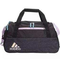 adidas Squad Duffel Bag, Clear Lilac Purple/Hi - Res Aqua Gr