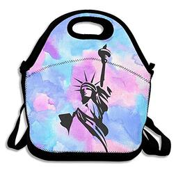 Statue Of Liberty Logo Lunch Bag Lunch Tote