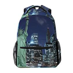 JSTEL Statue Of Liberty New York City School Backpacks For G