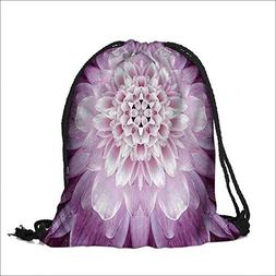 Storage Bag Floral Macro Close Up Photography Mandala Bathro