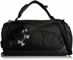 Under Armour Storm Contain Backpack Duffle 3.0,Black /Silver
