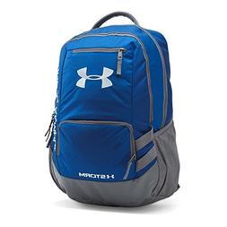 Under Armour Storm Hustle II Backpack, Royal /Silver, One Si