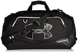 Under Armour Storm Undeniable II Duffle, Black /White, One S