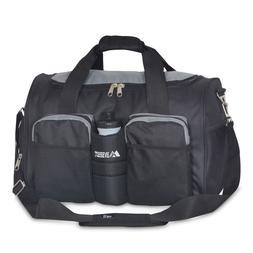 be15ee720a EVEREST Stylish Sports Gym Bag with Special Side Pocket For