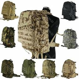 Tactical Military Style Assault Camping Hiking Pack Backpack