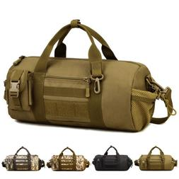 Tactical Molle Duffel Bag Handbag Military Waterproof Travel