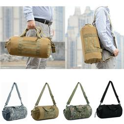 Tactical Molle Duffle Bag Handbag Military Travel Shoulder G