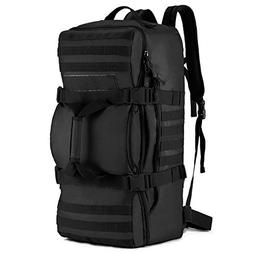Tactical MOLLE Multifunctional Travel Bag with Padded Backpa