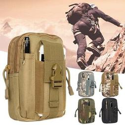 Tactical Shoulder Bag Molle Waist Pack Phone EDC Pouch Outdo