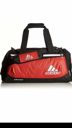 Adidas Team Issue Medium Duffel Gym Bag Power Red & Black NW