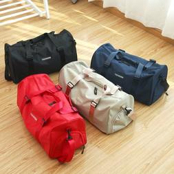 Travel Gym Sports Gym Bag with Wet Pocket & Shoes Compartmen