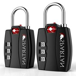 Spartan Travel TSA Approved Locks Best Combination Security