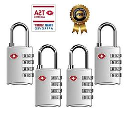 TSA Luggage Locks,TSA Approved Travel Combination Luggage Lo