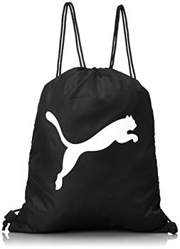 Puma Turnbeutel Pro Training Gym Sack, Black/white, 44 X 34