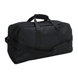 "DALIX 18"" Black Duffle Bag"