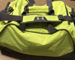 UNDER ARMOUR UA BLACK STORM 1 DUFFLE GYM BAG.
