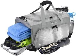 "FocusGear Ultimate Gym Bag: The Crowdsource Designed 20"" D"