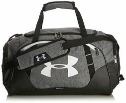 Under Armour Undeniable 3.0 X-Small Duffle Bag, Graphite/Whi