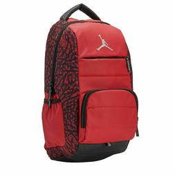 Unisex NIKE Air Jordan All World Backpack Gym BAG LAPTOP Red