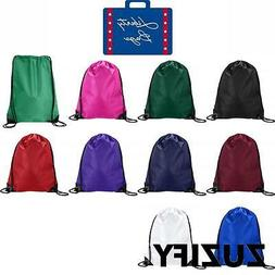 Liberty Bags Value Cinchsack Drawstring Backpack. 8886