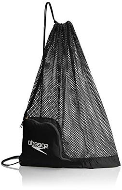 Speedo Ventilator Mesh Equipment Bag, Black