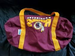 Vintage NFL Washington Redskins Gym Bag CANVAS W/ ZIPPER