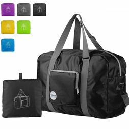 wandf foldable travel duffel bag luggage sports
