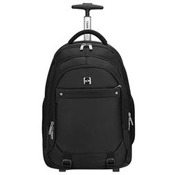 7ace28e0f14f S-ZONE Wheeled Backpack Rolling Carry-on Luggage Travel Duff