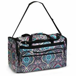 Women Duffel Tote Bag for Gym Sports Business Trip Camping T