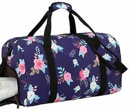 BLUBOON Women Overnight Weekender Bag Ladies Gym Duffel Bag