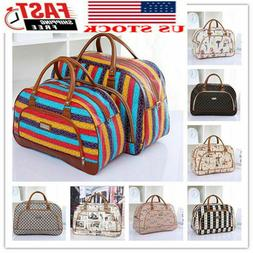 Womens Travel Luggage Bag Holdall Hand Girl's Weekend Carry