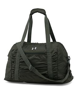 Under Armour Women's The Works Gym Bag, Artillery Green /Sil