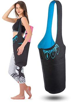 Zenifit Yoga Mat Bag - Yoga Mat Carrier with Large Side and