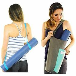 Yoga Mat Bag Carrier + Extra Strap Holder For Carrying - Wit