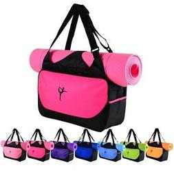 Yoga Mat Bags Carrier Strap Fitness Sling Gym Tote Carry Adj