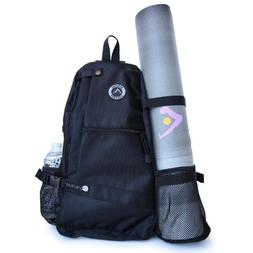Aurorae Yoga Mat Bag. Multi Purpose Cross-body Sling Back Pa
