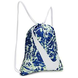 NIKE Young Athlete Drawstring Gymsack Backpack Racer Blue/Wh